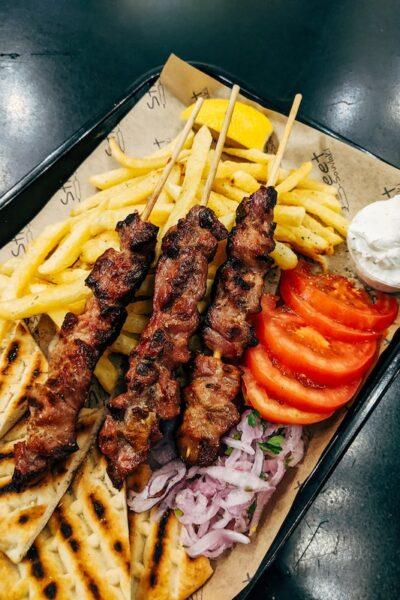 souvlaki vs gyros vs kebab